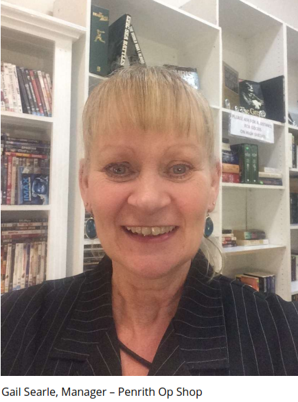 Gail Searle - penrith op shop manager