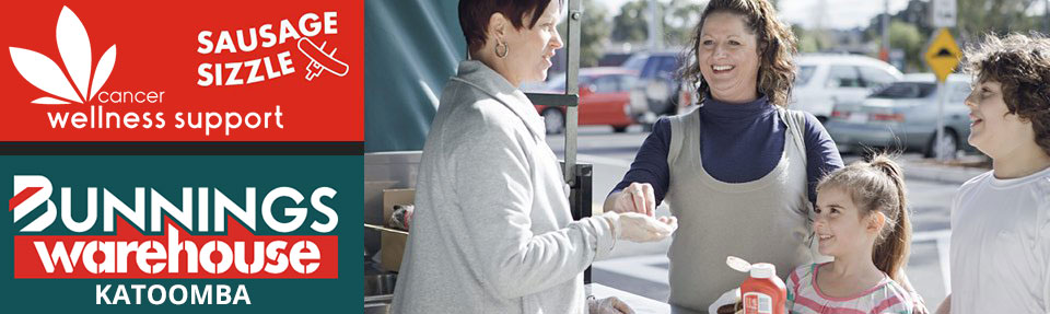 Bunnings Katoomba Sausage Sizzle BBQ @ Bunnings Katoomba