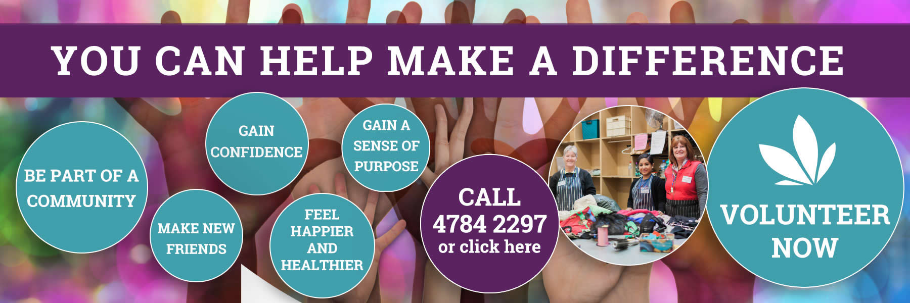 cancer support volunteers wanted